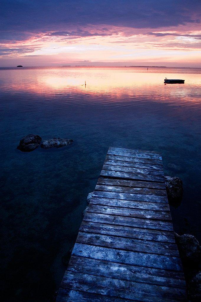 Dock near Key Largo